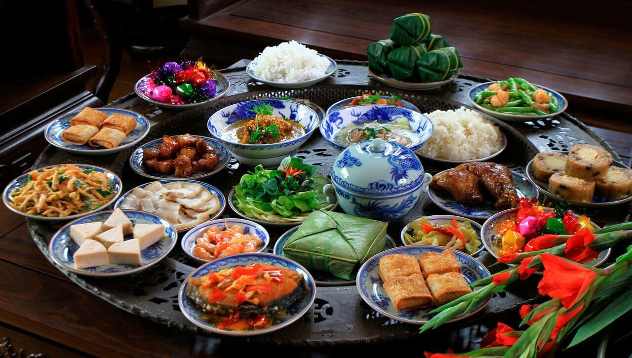 New year's food in Vietnam