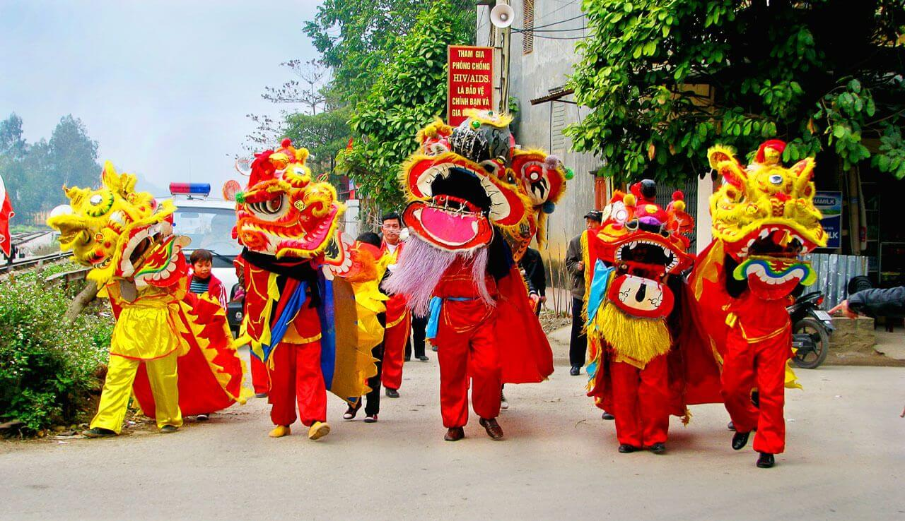 Dragon Dance in Vietnam