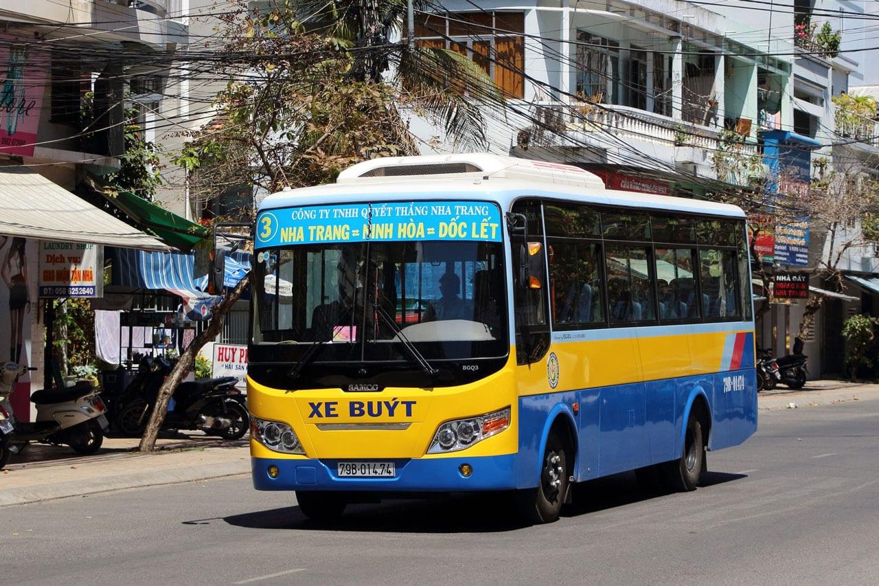 Nha Trang. Bus 3